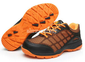 Fantastic Sports Safety Shoes Cool Steel Toe Breathable Anti Puncture Work Boots