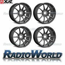 "XXR 527® 18"" x8.75 / ET20 5X114.3 + 5x100 Light Alloy Wheels Rims Chrome Black"