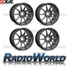 "XXR 527® 18"" x8.75 / ET20 5X114.3 + 5x100 Light Alloy Wheels Rims Chrome Black"