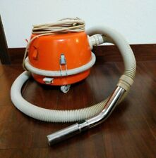 Vintage Orange Flying Saucer Eureka 3360 Canister Vacuum Space Age Retro Mcm Vac