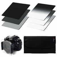 6pcs ND2 ND4 ND8 + Gradual ND2 4 8 Filter Set for Cokin P Series with Case