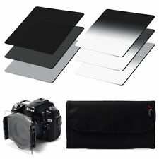 6pcs ND2 ND4 ND8 + Gradual ND2 4 8 Filter Set for Cokin P Series with Case LF3