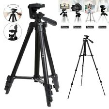 Flexible Camera Tripod Stand 360° 3-way Pan Holder for Canon Nikon iPhone DSLR