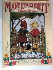 Mary Engelbreit Cross Stitch 1996 Hardcover Hand Stitched Patterns Charts Color