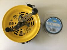 825BCV LEFT HAND deep sea reel ,+1000m of 40 lb platypus platinum 40lb In Stock