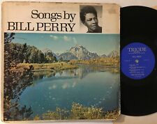 SONGS BY BILL PERRY - US TRIODE RECORDS LP private label soul funk new york city