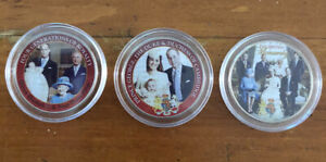 Prince George Christening Coloured Half Dollars