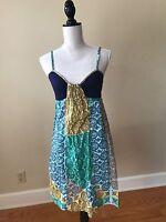 Anthropologie LILKA Spaghetti Strap Cotton Sun Dress, Size S