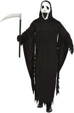 Adult Demon Ghost Scream Fancy Dress Halloween Mens Costume