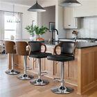 Bentwood Bar Stool Walnut Bar Stool/Pub Counter-Height Stool,Height Adjustable