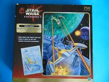 Bravo Squadron Assault Star Wars Episode I 750 piece Puzzle SEALED 2 Sided 1999