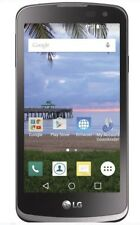 Total Wireless 4G Lte Lg Rebel L44Vl Lte Locked Smartphone Grey 8Gb /Ua6-4/12