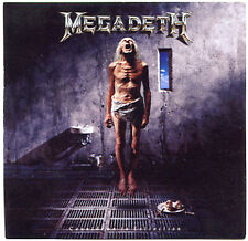 MEGADETH Countdown To Extinction 1992 promo STICKER decal adhesive 3-1/2 inches