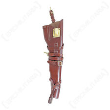 WW2 Brown Leather US M1 Carbine Rifle SCABBARD HOLSTER American Army