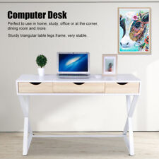 Home Computer Desk Office PC Laptop Table w/3 Drawers for Home Study Furniture