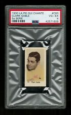PSA 4 CLARK GABLE 1930 La Pie Qui Chante Card #C83 THE HIGHEST EVER GRADED