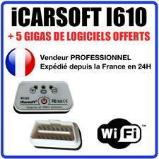 Interface iCARSOFT i610 WIFI - Puce ELM327 ÉVOLUTIVE - Diag OBD - COM