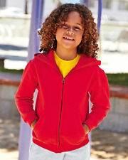 Fruit of the Loom Patternless Hoodies (2-16 Years) for Boys
