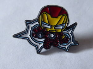 Disney Trading Pins Marvel Iron Man Chibi