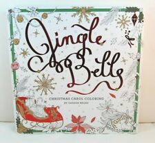 Jingle Bells Christmas Carol Adult Coloring Book by Odessa Begay NEW