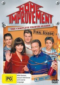 Home Improvement - Season 8 (DVD, 4 Disc Set) Region 4 - NEW+SEALED