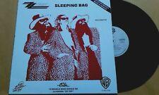 "ZZ TOP - Sleeping Bag (Afterburner) Mega Rare 12"" Promo LP MEXICO ONLY WB 1985"