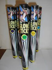 Lot Of 16 Assorted Colors Packs Of 8 Glow Bracelets/Necklaces. 128 Sticks Total