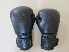 "Superare ""One Series"" 14 oz black leather boxing gloves, retail $80"