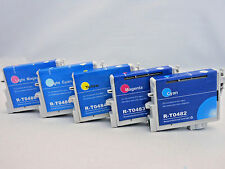 5Pk T0482-T0486 Ink Cartridge for Epson Stylus Photo RX620 RX600 RX500 R340 R320