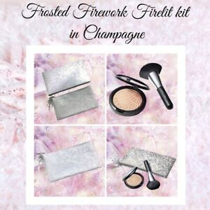 MAC COSMETICS FROSTED FIREWORK FIRELIT KIT IN CHAMPAGNE  2020 HOLIDAY COLLECTION