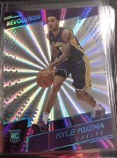 Kyle Kuzma Lakers 2017-18 Panini Revolution RC Rookie Card #102 Sunburst /75 SP