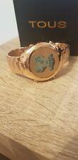 TOUS WATCHES BEAR Woman digital watch bear bracelet rosegold