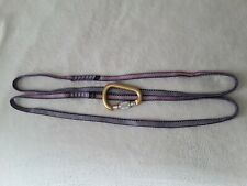 Petzle Attache Locking Carabiner and 13mm Slings