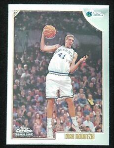 1998-99 Topps Chrome Rookie #154 Dirk Nowitzki Dallas Mavericks