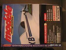 ** modèle magazine n°542 Plan encarté La Buse / F-91S Thunder Tiger / Cessna 177