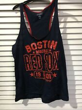 Campus Lifestyle MLB Baseball Womens L Large Boston Red Sox Tank Top 222