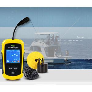 Handheld  Finder Portable, Fishing Kayak Fishfinder,  Depth Finder