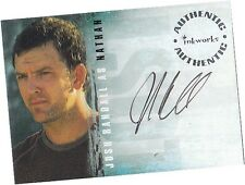 Lost Season 2 (Two): A-21 Josh Randall - Nathan Autograph/Auto Card