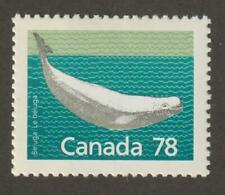 Canada 1988 #1179 Mammal Definitives - Beluga Whale - Mnh