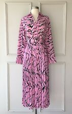 | COUNTRY ROAD | print pleat shirt midi dress pink | NEW| $229 | SIZE:10,14,16 |