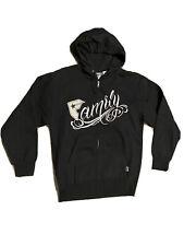 Famous Stars & Straps  Family zipper hoodie Mens Small Black