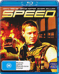 Speed Blu-Ray New & Sealed Keanu Reeves