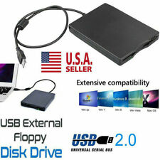 3.5 Inch USB 2.0 Portable External Floppy Disk Drive 1.44Mb Reader PC Laptop USA