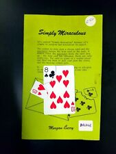 Rare Simply Miraculous By Terry Morgan & Paul Curry Complete With Gimmick 1977