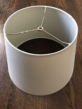 Pottery Barn Ivory Lamp Shade Medium NEW