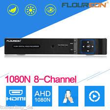 5 IN 1 TVI 8CH AHD 1080N HDMI CCTV DVR NVR HVR 1080P Sicherheit Videorecorder DE