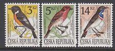 BIRDS :  CZECH REPUBLIC 1994 Birds set SG 55-7 never-hinged mint