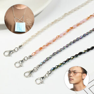 Face Mask Glasses chain Beaded Lanyard Cord Chain Strap Spectacles Sunglasses
