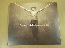 CD + DVD / DAVID BISBAL - PREMONICION