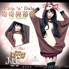 american cartoon Chip 'n' Dale chipmunk cosplay transforming hoodie�Jly0063】